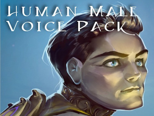Human Male Voice Pack