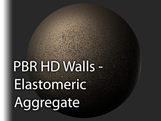 PBR HD Walls Elastomeric Aggregate