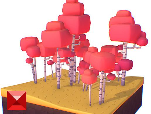 Birch Trees - Proto Series