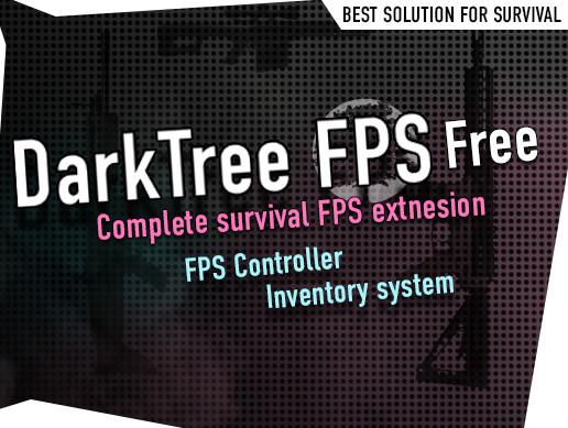 DarkTree FPS FREE - Survival FPS + Inventory