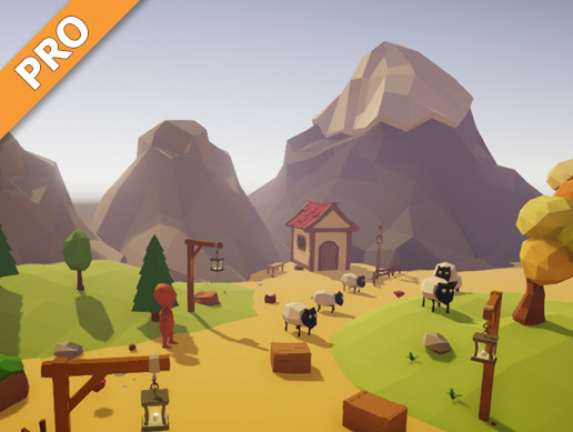 Low Poly Game Kit - PRO