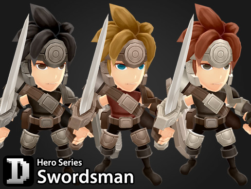 Hero Series - Swordsman