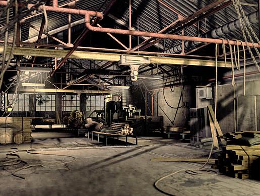 Industrial Sawmill Level
