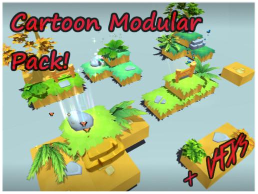 Cartoon Modular World & VFXs Vol.1