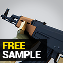 Low Poly FPS Pack - Free (Sample)