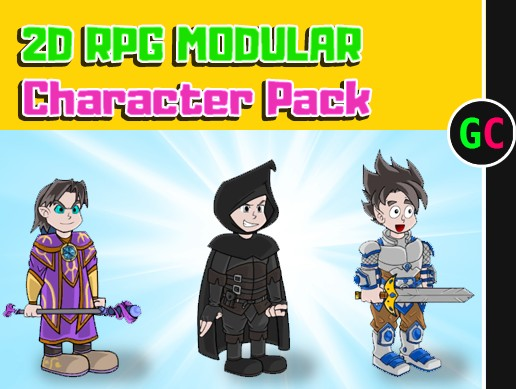 2D RPG Modular Character Pack 01