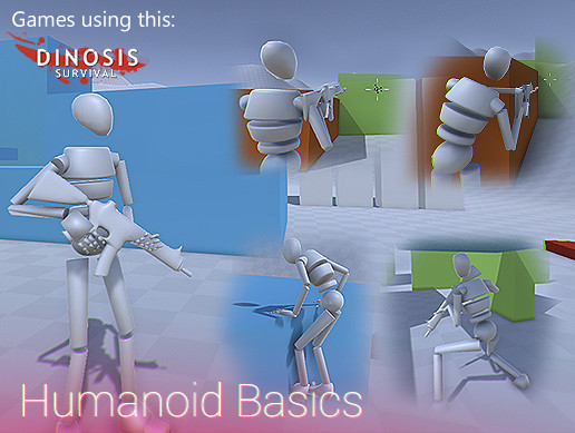 Third Person Controller - Humanoid Basics