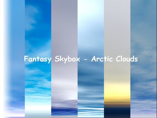 Fantasy Skybox - Arctic Clouds