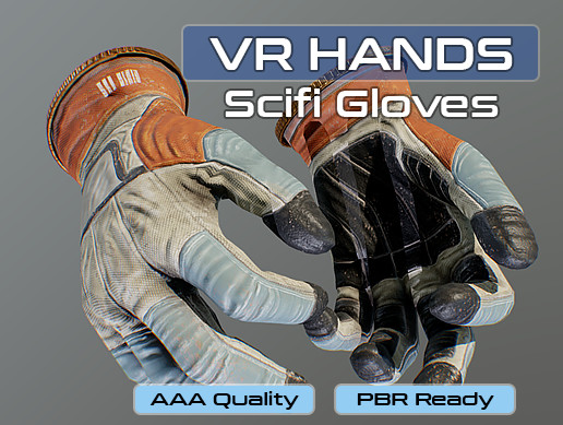 VR Hands - Scifi Gloves