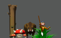 Forest monsters pack