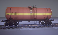 Railway Tank 15-1427 (Soviet Locomotives)