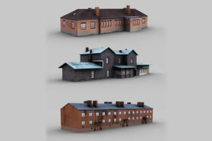 Buildings Pack Lowpoly 2