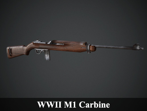 WWII M1 Carbine - Asset Store