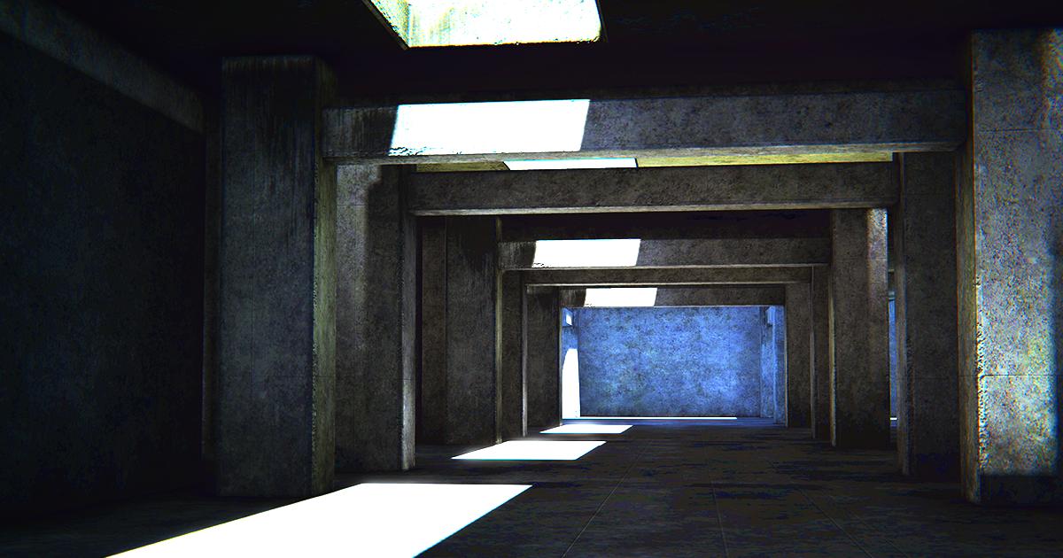 Concrete Garage Environment