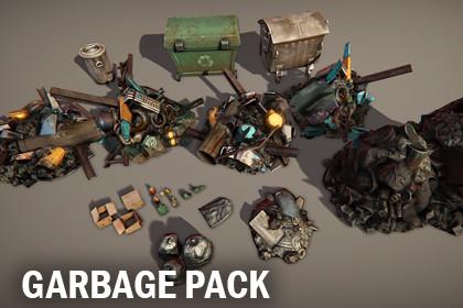 Garbage pack