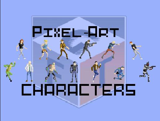 Pixel Art Characters - Asset Store