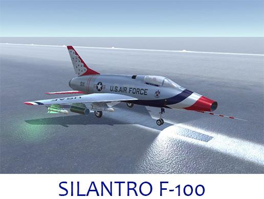 Silantro F-100 Super Sabre