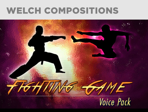 Fighting Game Voice Pack