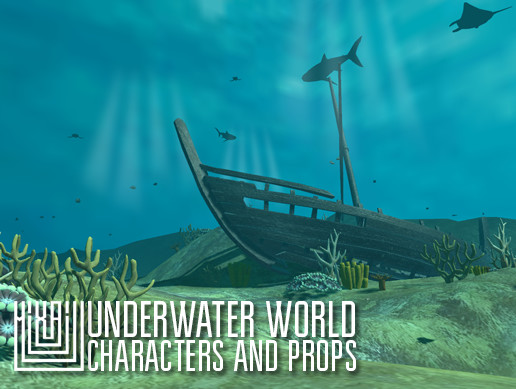 Underwater world - characters and props