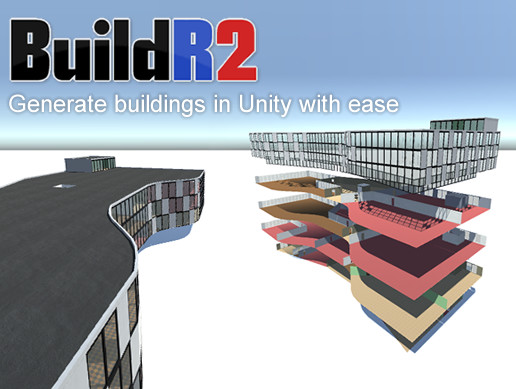BuildR 2 - Procedural Building Generator - Asset Store