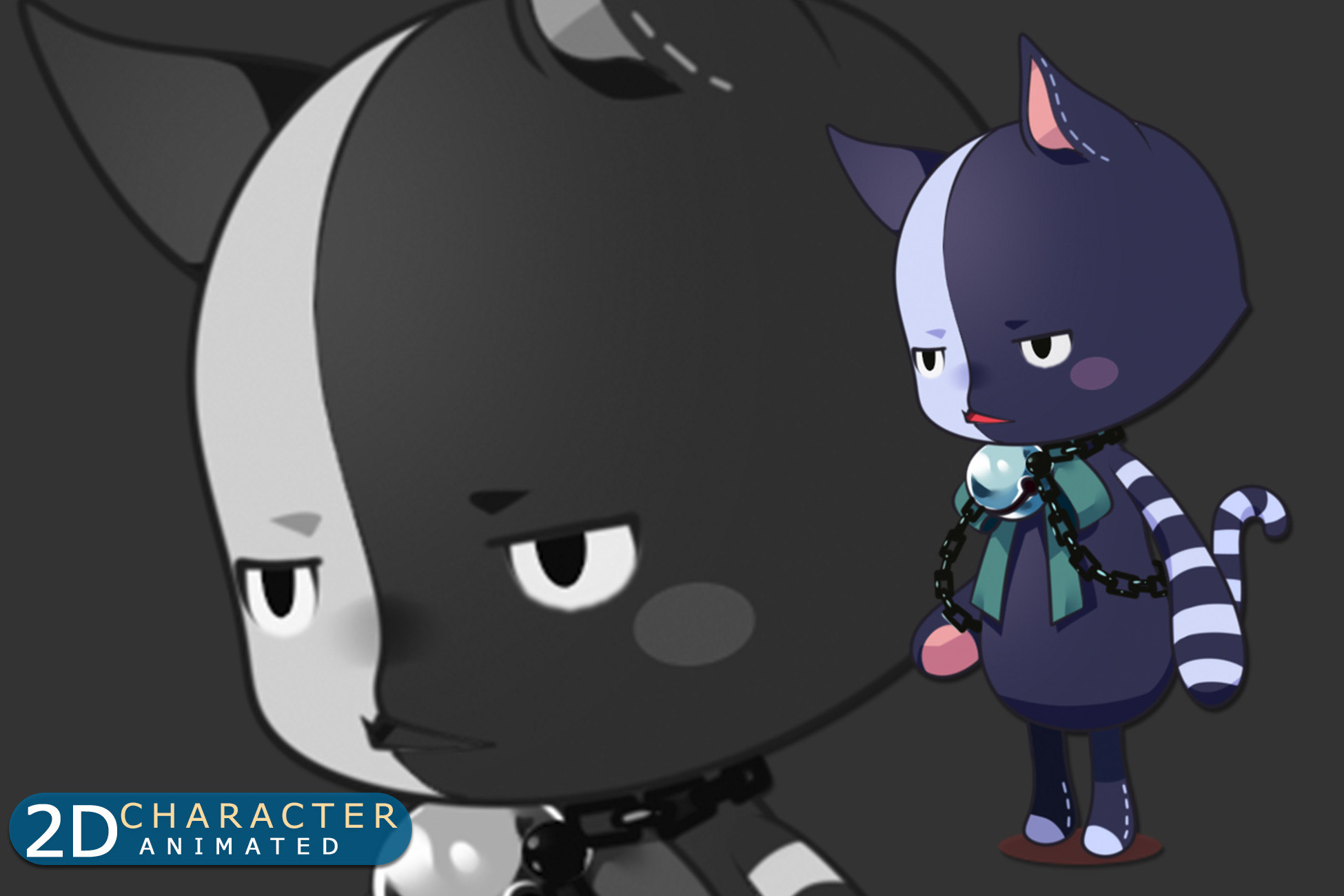 FancyDoll – C012D: Two Faces Cat