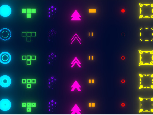 Smooth Loading Icons - Scifi