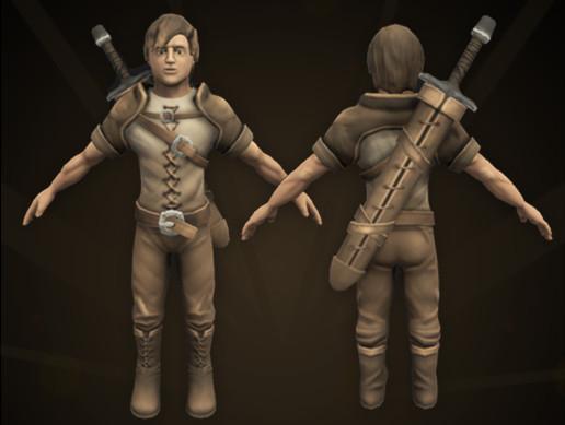 Adventurer Character Hero