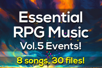 Essential RPG Music Vol.5 Events!