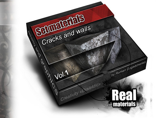 "Set materials ""Crack Walls"""