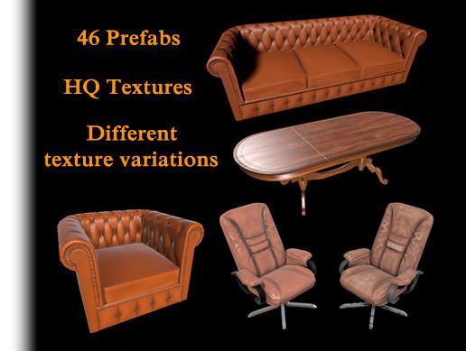 PBR Furniture Pack