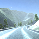 Mountain Race Track