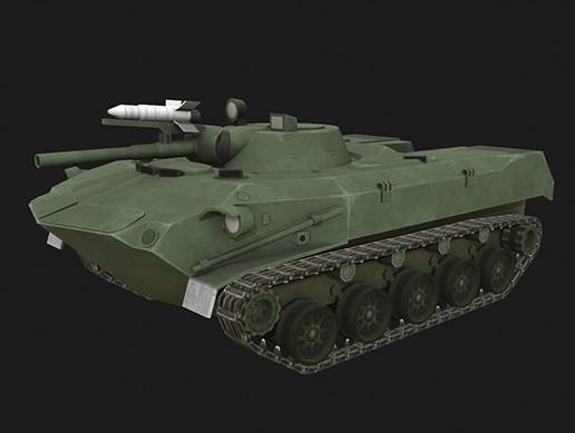 Tank BMD-1