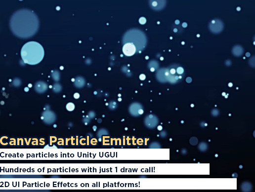 Canvas Particle Emitter - Asset Store