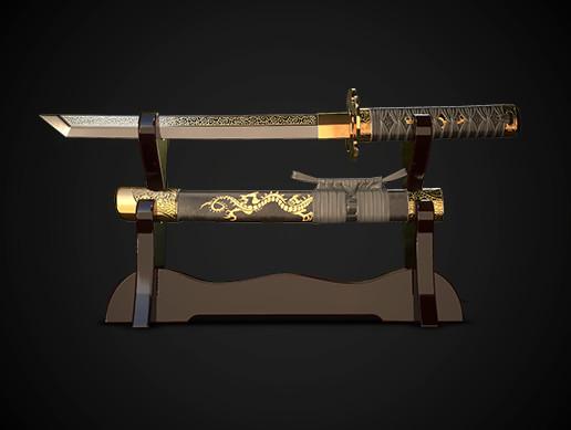 Samurai sword tanto No.05