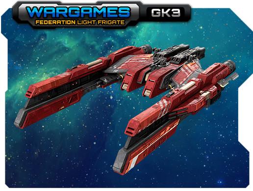 Federation Light Frigate GK3