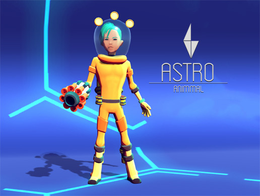 ASTRO - Stylized Action Adventure/RPG Character