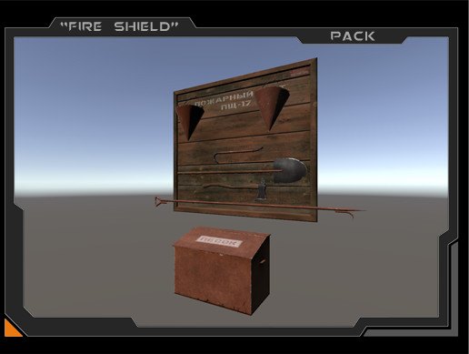 Fire Shield Props Pack