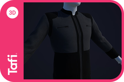 Bridge Officer Outfit Male from Tafi