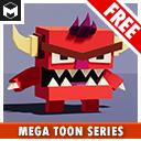 Meshtint Free Boximon Fiery Mega Toon Series