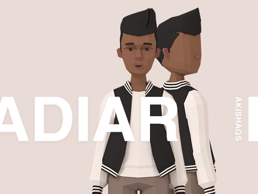 Adiar | Lowpoly Character