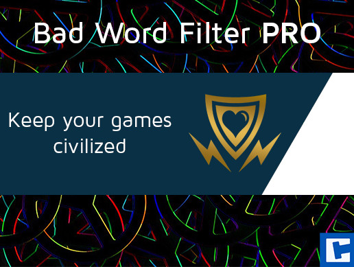Bad Word Filter Pro Asset Store