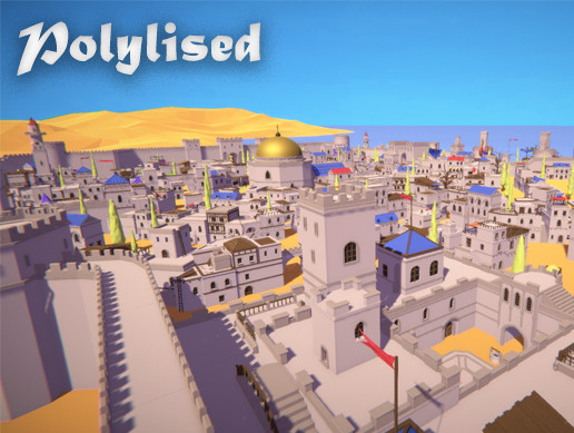 Polylised - Medieval Desert City