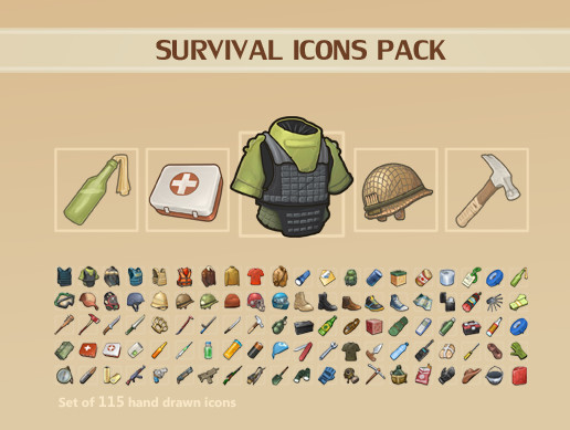 Survival Icons Pack