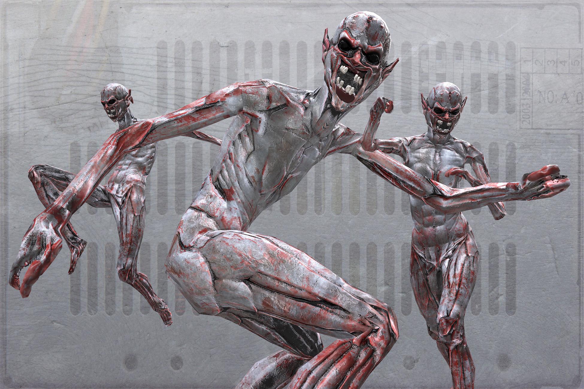 Creature zombie flesh