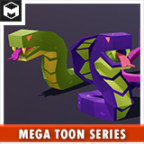 Toon Snakes Pack