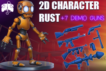 2D Animated Character - RUST