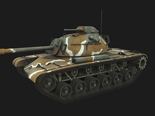 Tank M48A3