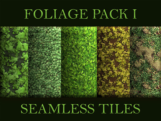 Seamless Tiles: Foliage Textures Set 1