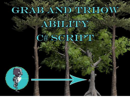 Grab and Throw C# Pro Script