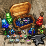 Fantasy Treasure Loot Kit